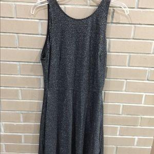 Metallic dress from H&M
